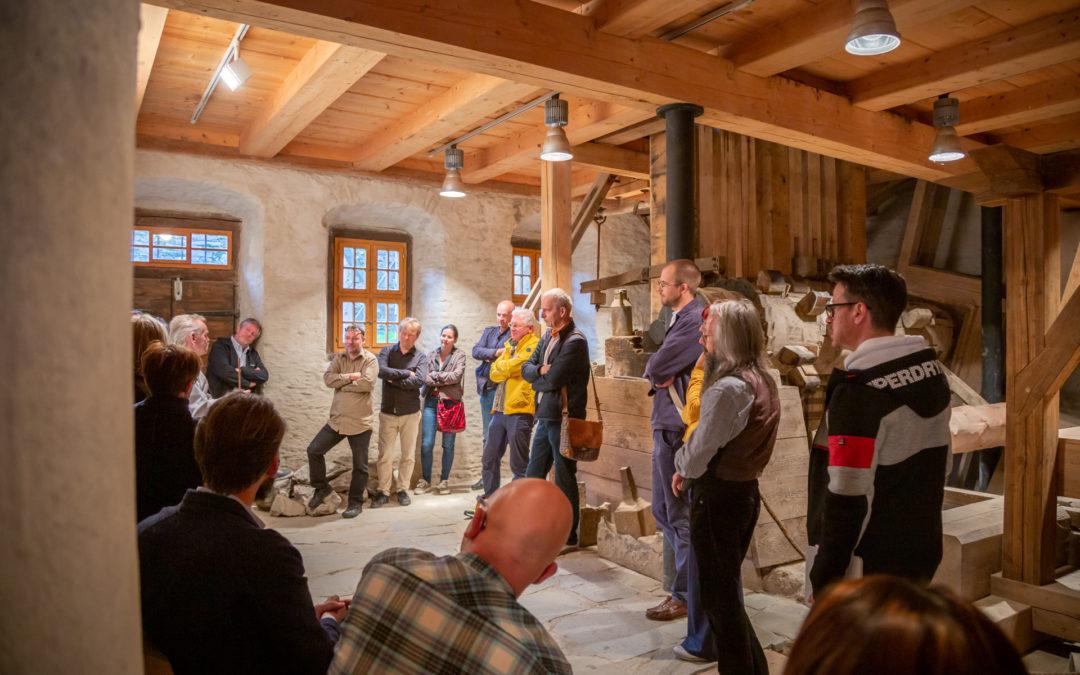 Treffen im Pochwerk Siebenschlehen in Schneeberg